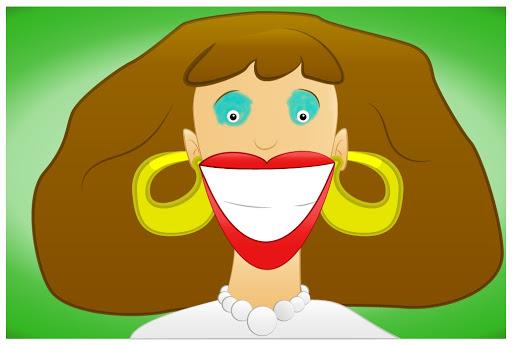 Julie's interpretation of a teacher smiling at her as a child